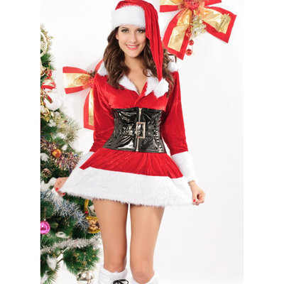 Kerst Outfit Lady Santa
